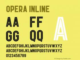 Opera Inline Version 1.002;Fontself Maker 3.0.1图片样张