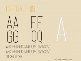 Opera Thin Version 1.002;Fontself Maker 3.0.1图片样张