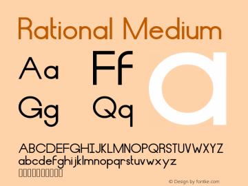 Rational Medium Version 001.000图片样张
