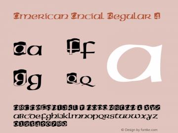 AmericanUncial-Regular4 001.005图片样张