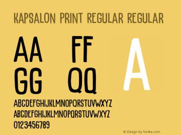 KapsalonPrint Version 1.000;YWFTv17图片样张