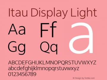 Itau Display Light Version 1.000图片样张