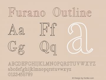 Furano Outline 图片样张