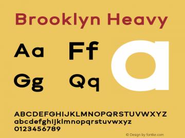 Brooklyn Heavy Version 1.000图片样张
