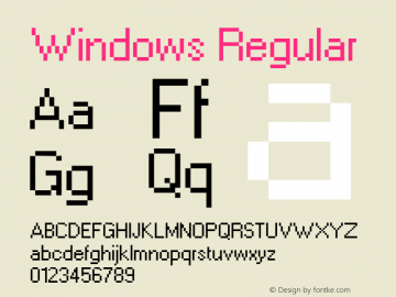 Windows Regular 2.98 December 4, 2014图片样张