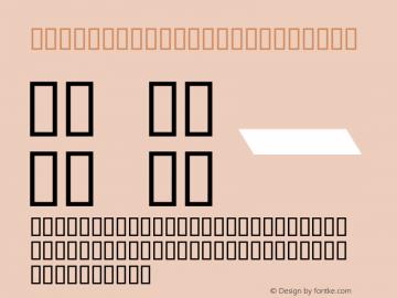 MCS TAIF ITALIC Regular ALMAALIM COPMUTER SYSTEMS Font Sample