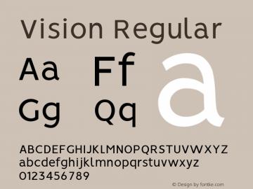 Vision Regular Version 1.000图片样张