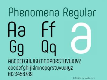 Phenomena Regular Version 1.000图片样张