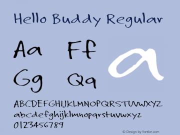 Hello Buddy Regular 0.1图片样张