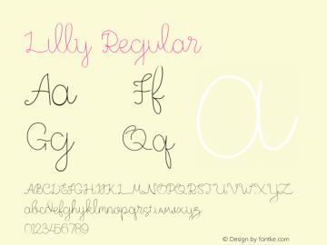 Lilly Version 1.00图片样张