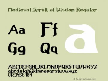 Medieval Scroll of Wisdom - Regular Version 1.000图片样张