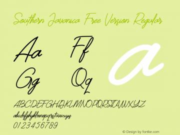 Southern Javanica  Free Version Version 1.000图片样张