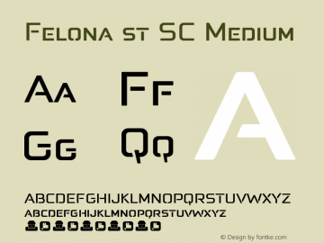 Felona st SC Medium Version 1.185图片样张