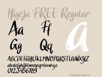 Higeja FREE 图片样张