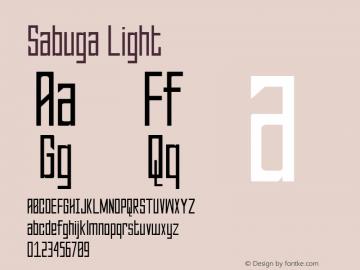 Sabuga-Light Version 1.000图片样张