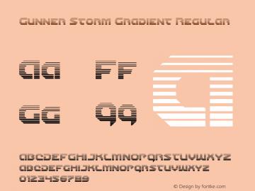 Gunner Storm Gradient Version 1.00 July 26, 2016, initial release图片样张
