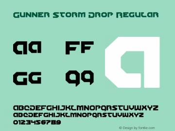 Gunner Storm Drop Version 1.00 July 26, 2016, initial release图片样张