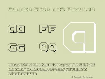 Gunner Storm 3D Version 1.00 July 26, 2016, initial release图片样张