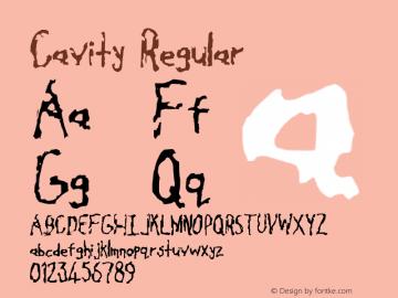Cavity Regular Version 001.025图片样张