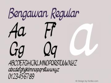 Bengawan Version 1.00图片样张