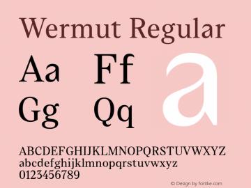 Wermut Version 1.000 | wf-rip DC20160810图片样张