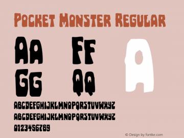 Pocket Monster Version 1.0; 2016图片样张