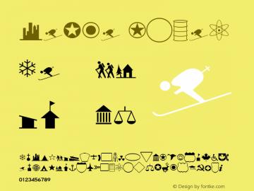 Carta Roman Version 1.00 Font Sample