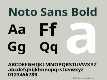 Noto Sans Bold Version 2.000;GOOG;noto-source:20170915:90ef993387c0; ttfautohint (v1.8.2)图片样张
