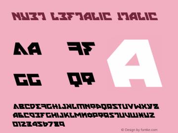 Nyet Leftalic Version 2.1; 2019图片样张