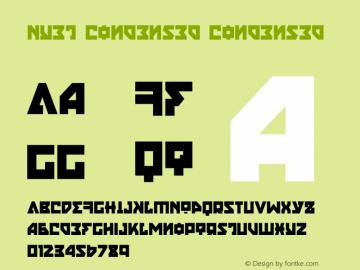 Nyet Condensed Version 2.1; 2019图片样张