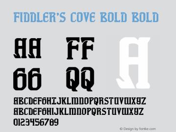 Fiddler's Cove Bold Version 1.0; 2012图片样张