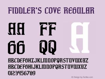 Fiddler's Cove Regular Version 1.0; 2012图片样张