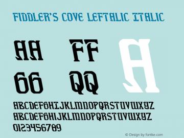 Fiddler's Cove Leftalic Version 1.0; 2012图片样张
