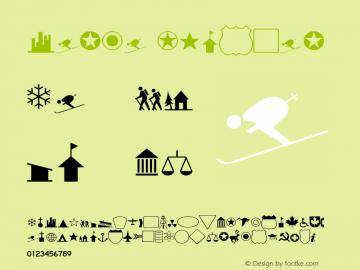 Carta Regular V.1.0 Font Sample