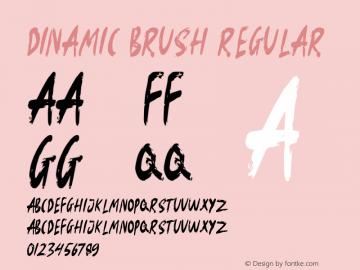 Dinamic Brush Version 1.002图片样张