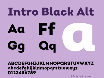Intro-BlackAlt Version 1.000图片样张