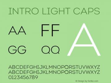Intro-LightCaps Version 1.000图片样张