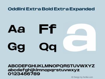 Oddlini-ExtBdExtExp Version 1.002图片样张