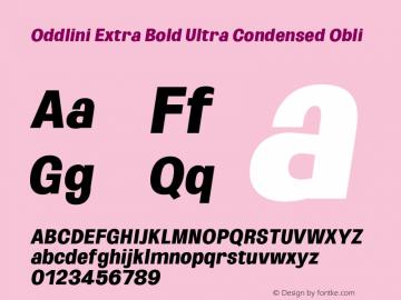 Oddlini-ExtBdUltraCondObli Version 1.002图片样张
