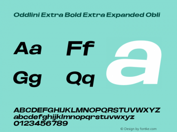 Oddlini ExtBd ExtExp Obli Version 1.002图片样张