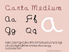Carta Medium Version 001.000图片样张