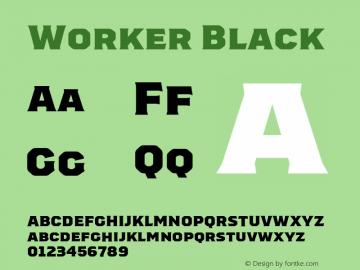 Worker-Black Version 1.00图片样张