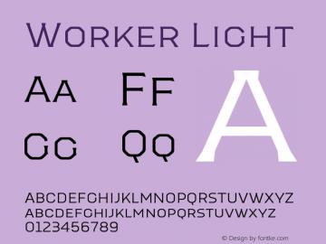 Worker-Light Version 1.00图片样张