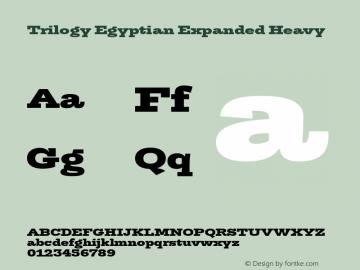 TrilogyEgyptianExpanded-Heavy Version 1.001图片样张
