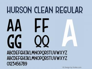HursonClean Version 1.000;PS 001.001;hotconv 1.0.56;YWFTv17图片样张