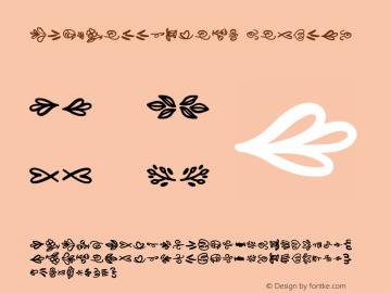 CLN-Bellished2 Version 1.003;Fontself Maker 3.2.2图片样张