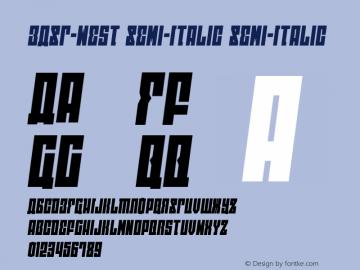 EAST-west Semi-Italic Version 1.2; 2014图片样张
