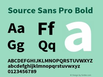 Source Sans Pro Bold Version 1.050;PS 1.000;hotconv 1.0.70;makeotf.lib2.5.5900图片样张