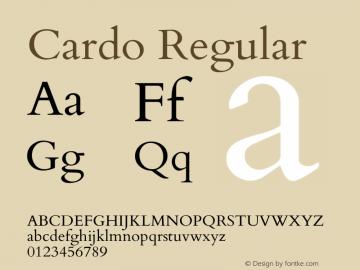 Cardo Version 1.0451图片样张