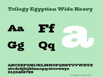 TrilogyEgyptianWide-Heavy Version 1.001图片样张
